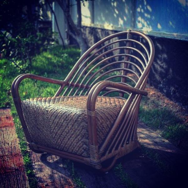 新しく入荷 sika design の藤椅子