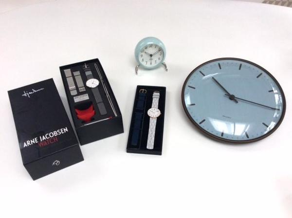 Arne Jacobsen Limited Watch & Clock