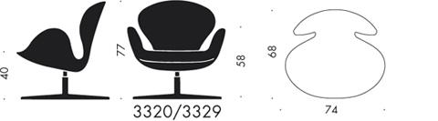 Egg Chair Plan Dwg Funky Egg Chair From The 70s Fritz Hansen Egg